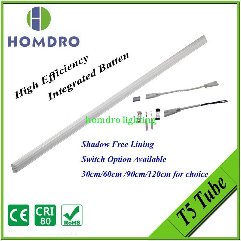 Energy saving t5 led tube, t5 led lighting, tube lighting with switch for indoor